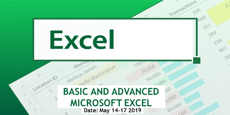 BASIC AND ADVANCED MICROSOFT EXCEL - SPC Patterns Consulting